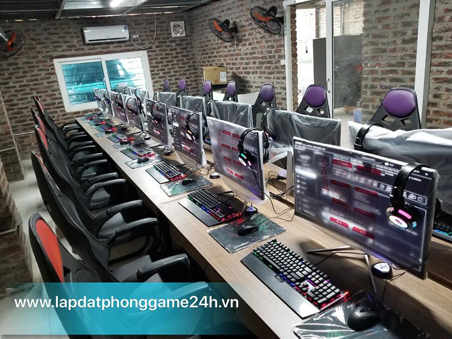Thi công phòng net cao cấp tạo không gian riêng thu hút game thủ
