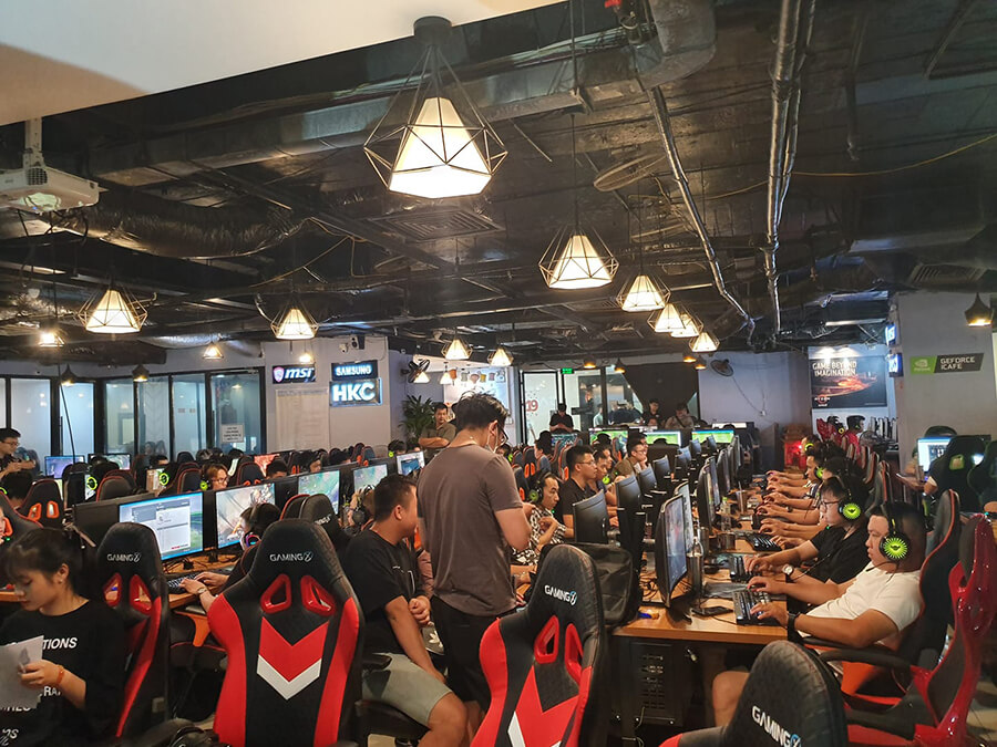 139 Máy Cyber Game Vip tại GAMING X – Thành Công -  Hà Nội