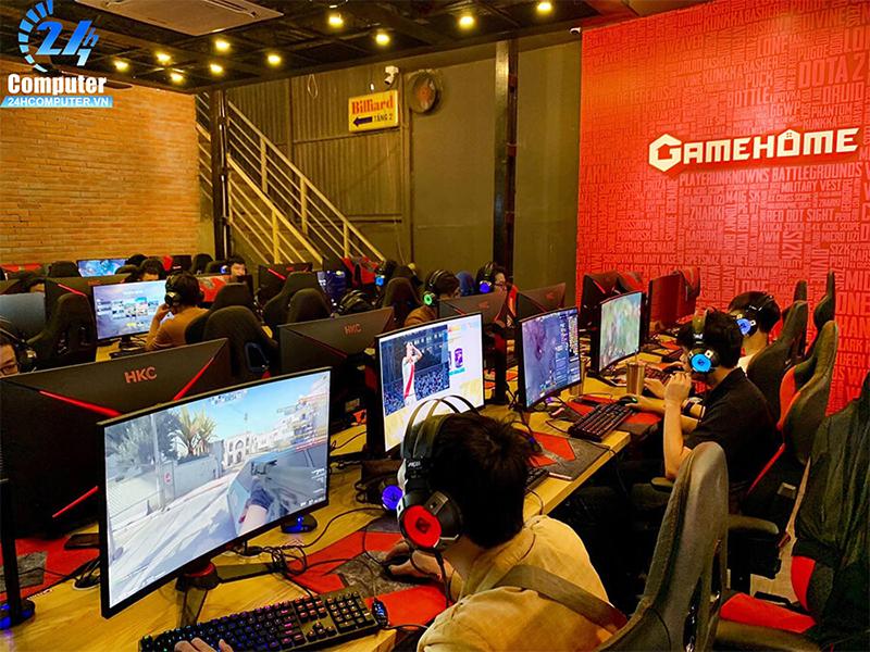 Dự án thi công lắp đặt phòng Game Home bởi 24h Computer