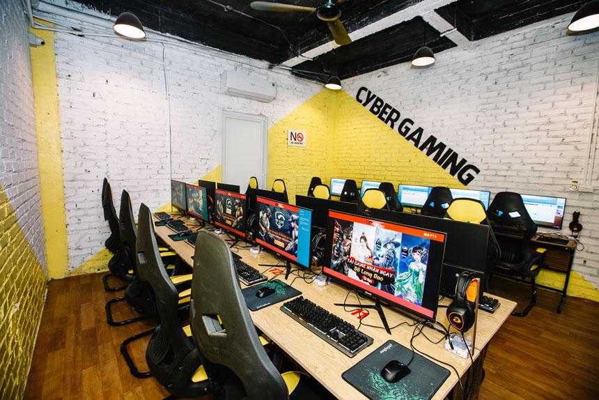 Lắp đặt phòng game, net 20 máy